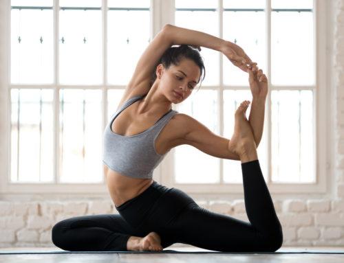 Exerciții de yoga pentru relaxare și stare de bine