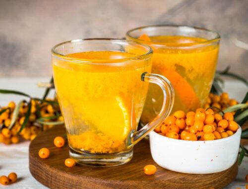 Ceai de catină: beneficii și mod de preparare