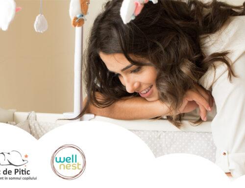Somnic de Pitic – soluții pentru un somn odihnitor la bebeluși. Interviu cu Oana Vlah, consultant certificat în somnul copilului