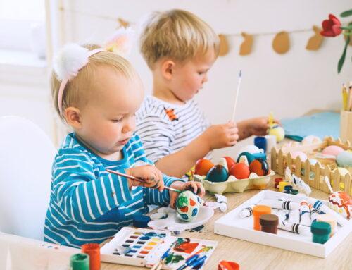 3 decorațiuni DIY pentru Paște pe care să le faci cu copiii